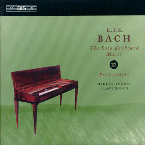 C.P.E. Bach, The Solo Keyboard Music Vol. 22 / BIS
