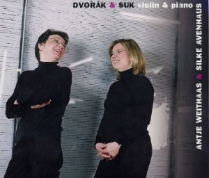 Dvořák & Suk, Violin & Piano / Avi-music