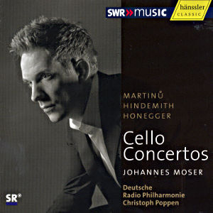 Cello-Konzerte, Martinů • Hindemith • Honegger / SWRmusic