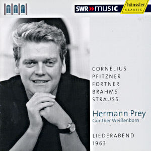 Hermann Prey Liederabend 1963 / SWRmusic