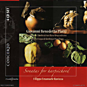 Giovanni Benedetto Platti<br />Sonatas for harpsichord