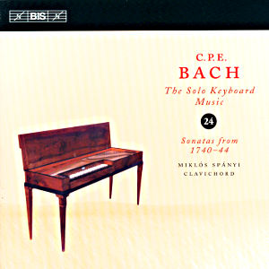 C.P.E. Bach<br />Solo Keyboard Music Vol. 24