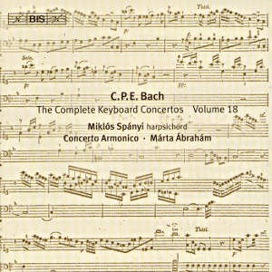 C.Ph.E. Bach, The Solo Keyboard Music Vol. 25 / BIS