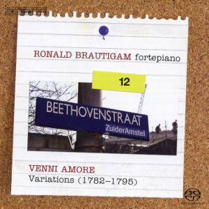 Ludwig van Beethoven Complete Works for Solo Piano Vol. 12 Variations (II) / BIS