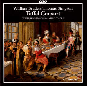 Taffel Consort, William Brade & Thomas Simpson / cpo
