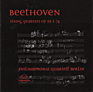 Beethoven, String Quartets op. 59 & 74 / Thorofon