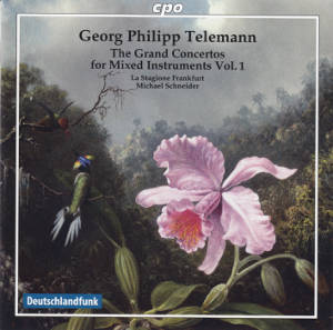 Georg Philipp Telemann<br />The Grand Concertos for Mixed Instruments Vol. 1