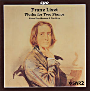 Franz Liszt Works for Two Pianos / cpo