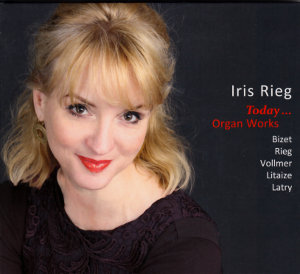 Iris Rieg<br />Today...<br />Organ Works