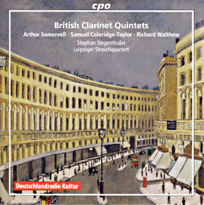 British Clarinet Quintets