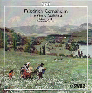 Friedrich Gernsheim, The Piano Qintets / cpo