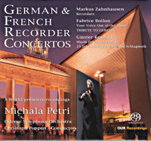German & French Recorder Concertos / OUR Recordings