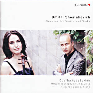 Dmitri Shostakovich, Sonatas for Violin and Viola / Genuin