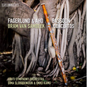 Fagerlund & Aho, Bassoon Concertos / BIS