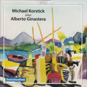 Alberto Ginastera, The Piano Music / cpo