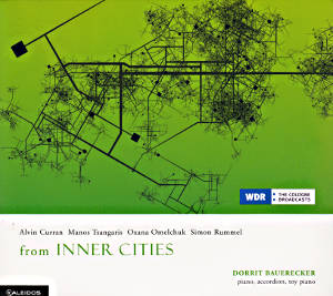 from INNER CITIES, Contemporary music for piano, accordion and toy piano / Kaleidos