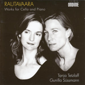 Rautavaara, Works for Cello and Piano / Ondine