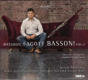 Bassoon_Fagott_Basson!, Concertos arranged by N. Tarkmann / Coviello Classics