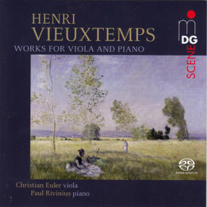 Henri Vieuxtemps, Works for Viola / MDG