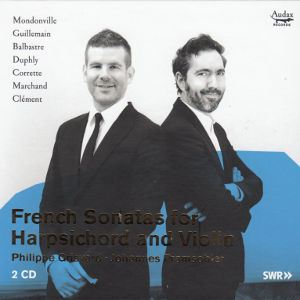 French Sonatas for Harpsichord and Violin, Phlippe Grisvard • Johannes Pramsohler / Audax Records