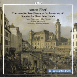 Anton Eberl, Concerto for Two Pianos & Orchestra op. 45 / cpo