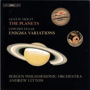 Gustav Holst • Edward Elgar, The Planets • Enigma Variations / BIS