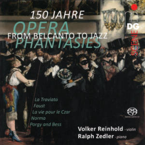 From Belcanto to Jazz, Opera Phantasies from 150 Years / MDG