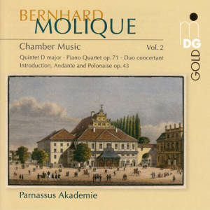 Bernhard Molique, Chamber Music Vol. 2 / MDG