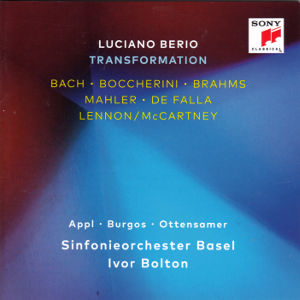 Luciano Berio, Transformation / Sony Classical