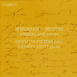Schumann • Brahms, sonatas and songs / BIS