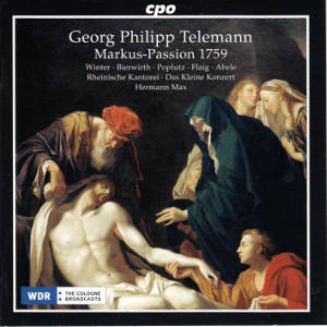 Georg Philipp Telemann, Markus-Passion 1759