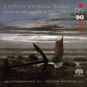 Johann Wilhelm Wilms, Sonatas for piano and flute op. 15