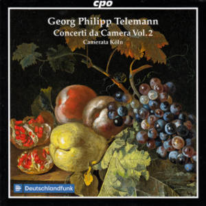 Georg Philipp Telemann, Concerti da Camera Vol. 2