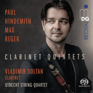 Clarinet Quintets, Hindemith • Reger
