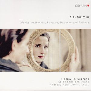 o luna mia, Works by Merula, Romano, Debussy and Seilov