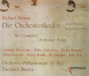 Richard Strauss Die Orchesterlieder / Nightingale Classics