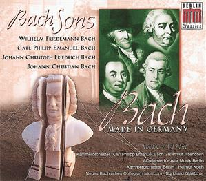 Bach Sons, Bach Made in Germany Vol. IX / Berlin Classics