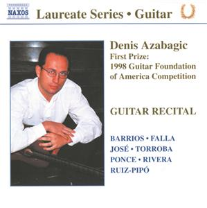 Denis Azabagic, Guitar Recital / Naxos