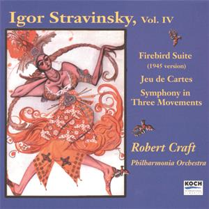 Igor Strawinsky Vol. IV / Koch International