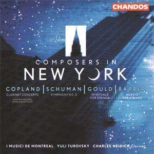 Composers in New York / Chandos