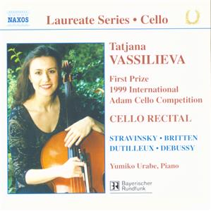 Tatjana Vassilieva - Cello Recital / Naxos