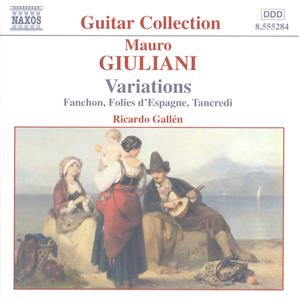 Mauro Giuliani Guitar Music Vol. 1 – Variations / Naxos