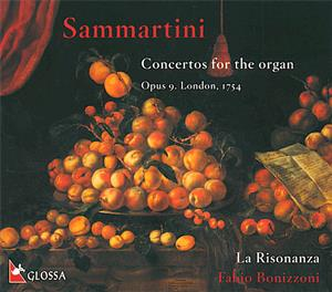 Sammartini<br />Concertos for the Organ op. 9, London 1754
