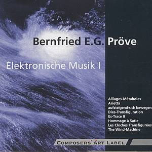 Elektronische Musik I / Composers Art Label
