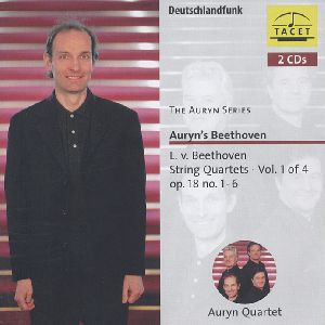 The Auryn Series, Beethoven - String Quartets Vol. 1 / Tacet