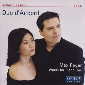 Max Reger, Works for Piano Duo / OehmsClassics