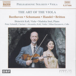 The Art of the Viola / Naxos