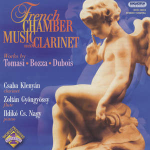 French Chamber Music with Clarinet / Hungaroton