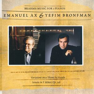 Brahms: Music For 2 Pianos / Sony Classical