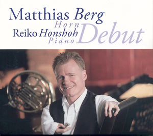 Matthias Berg, Debut / Mons Records